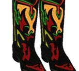 Western embroidery designs