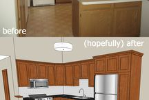 kitchen remodel / redo-ing the townhouse kitchen!  budget friendly-style... / by Laura S