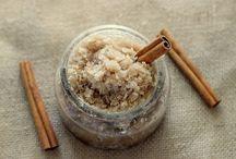 Cinnamon body scrub