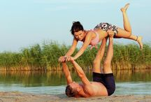Beach gymnastics / :)
