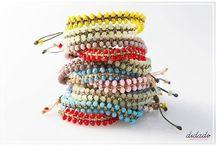 Arm Candy / #armcandy #bracelets #summer #fun #colors #handmade #accessories