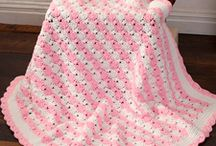 Crochet baby blankets / All type of blankets for baby. Including snugglies/lovies. Some include little extras to go along w/the blanket for boys, girls or unisex. / by Amy Smith