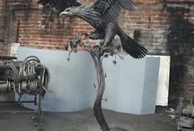 Island Metal Art / Sculpture