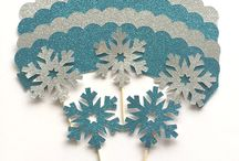 Frozen Party Decorations, Cupcake Toppers & Accessories