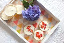 Verrines ! / Mes desserts en verrines  ! ❥