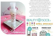 Beauty Society Diva Melissa / All products are Sulfate free, Paraben free, Fragrance free, Gluten free, Cruelty free, Vegan friendly. Made in the USA!!! All Skincare products have a 1 year guarantee, makeup and hair care have a 1 month guarantee!! Eco friendly offering a Treasure not Trash refill program!!!!