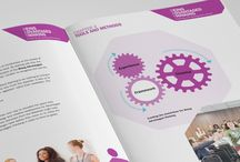 Brochures / The brochures and annual reports we craft for our clients speak volumes for their brands and engage and inform in a way that technology simply can't. With inspiring layouts, imagery, formats, papers and finishes, they have a physical presence that ensures they are remembered well beyond any electronic format.