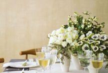 Fresh ideas for table centres