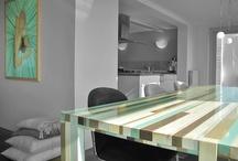 ArT Table, De Kunstafel, KunsTafel by Van&Veld Design / A table handmade, in the colours of your own life.