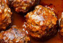 Meatballs & Rissoles