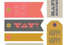 Labels, printables
