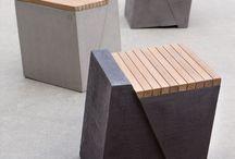 nábytek z betonu