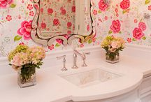 Girls Bathroom / Shabby, glamorous , jack & jill