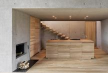 Concrete & Wood Interiors