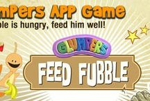 Feed Fubble, Glumpers APP game for kids / juego para niños