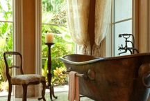 DeCotesworth Bathroom / Colour . Charme . Folly .  DeCotesworth - Transforming terminally dull interiors