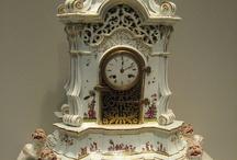 kandallóóra porcelán
