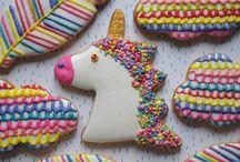 galletas de unicornio
