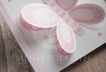 Christening wish books / Lovely Christening guest books for boys and girls.
