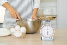 Conversions wts & meas. / Weights & measures for recipes.