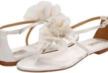 Floral Bridal Shoes / Floral Accented shoes