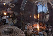 Light in vetro e spago