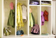 Mudroom Ideas / by Carrie A