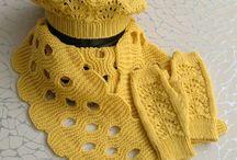 Головные уборы, шарфы, рукавички