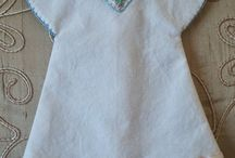 Angel baby gowns - wedding dress recycle