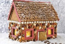 Gingerbread House / As you see gingerbread house pins, you can add them here for next year!  Totally forgot about this board that I created last year. / by Carolyn Venne