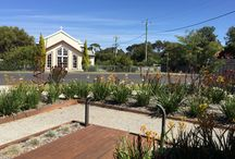 Making the most of surrounding architecture when landscaping - 100 Hitchcock ave Barwon Heads / Drawing on surrounding architecture when landscaping at 100 Hitchcock ave Barwon Heads