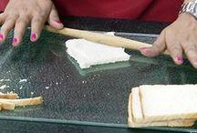 Cabbage bread roll