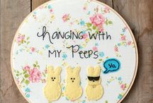 Embroidery Crafts / For everyone who loves needlepoint crafts! | Lauren -chattycrafting.com