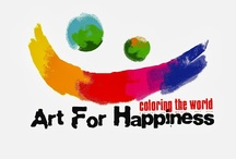 Art for Happiness News YouTube Channel / YouTube Clips about the products we sell in www.artforhappiness.ca store (mostly silk painting supplies and Magic Marble Paints or immersion marbling) and related projects