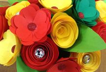 Crafty Flowers. / Handmade paper flowers