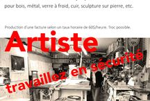 Artistes et menus services / Location. vente. Quand informer le réseau et le milieu des arts devient un atout !