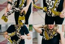 How to wear scarfs
