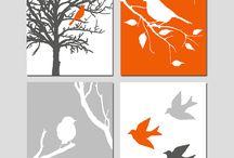 BIRDS CAMVAS