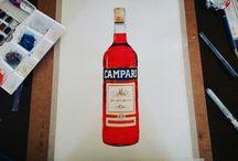 Watercolor - Beverage