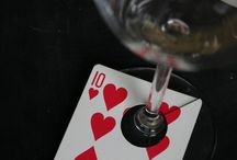 Mariage thème casino