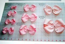 *{Bows DIY}* / by Destiny Violet Leshay Copass