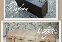 suitcase makeover
