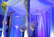 Chuppahs /  Shipley Enterprises specializes in unique event decor and design such as lighting, drapes, dance floors, gobos, chuppahs, chandeliers, and more