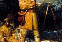 Haritacılık tarihi, Surveyors history