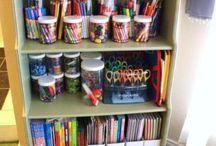 Organizing supplies