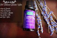 Aromatherapy/Essential Oils/Recipes