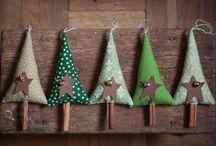 stromečky / vánoční dekorace - stromečky