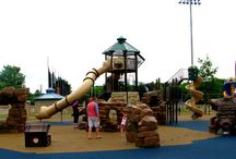 Pirate Playgrounds / Pirate themed pirate playgrounds at public parks - Field Trip!