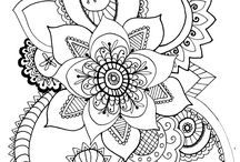 Mandala / Coloring pages I've created