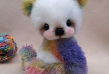 fluffy, soft....teddies and friends